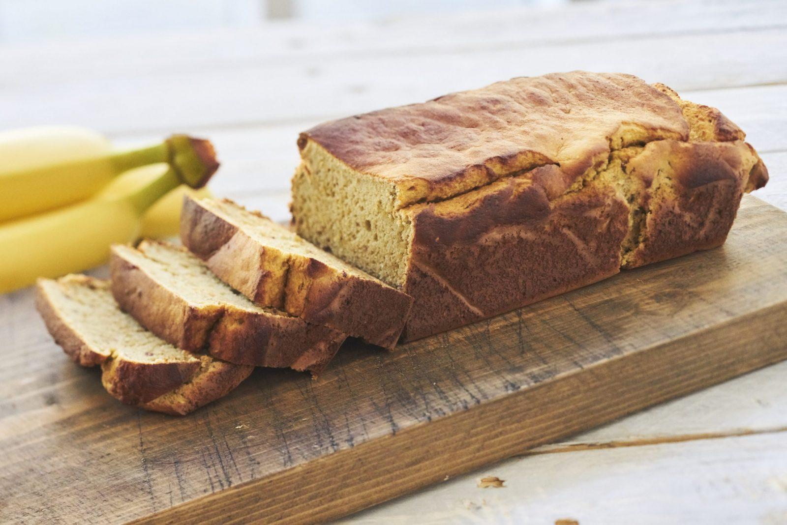 Bananbrood met kikkererwtenmeel - Peulvruchten.nl